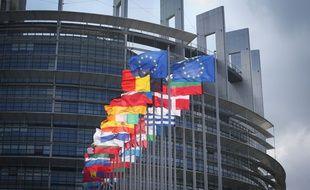 Le Parlement européen, à Strasbourg.