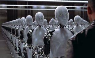 Dans le film «I, Robot», des Intelligences artificielles se rebellent pour prendre le pouvoir sur les humains