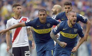 Boca et River ont fait match nul (2-2) à l'aller de la finale de la Copa Libertadores.