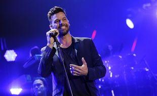 Ricky Martin, le 22 novembre 2014, à Inglewood, en Californie.