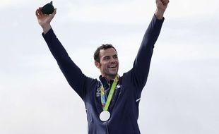 Maxime Beaumont a décroché une médaille d'argent aux Jeux Olympiques (AP Photo/Matt York)/OCAN141/16233527524751/1608201645
