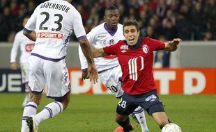 Passé par Lille, l'attaquant Victor Klonaridis s'est engagé deux saisons à Lens.