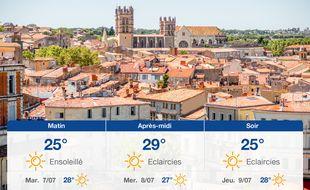 Météo Montpellier: Prévisions du lundi 6 juillet 2020