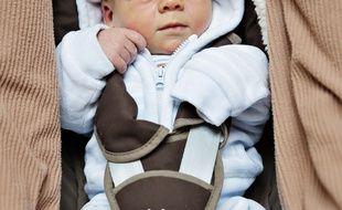 Le bébé a été abandonné dans les couloirs de l'hôpital. (Illustration)