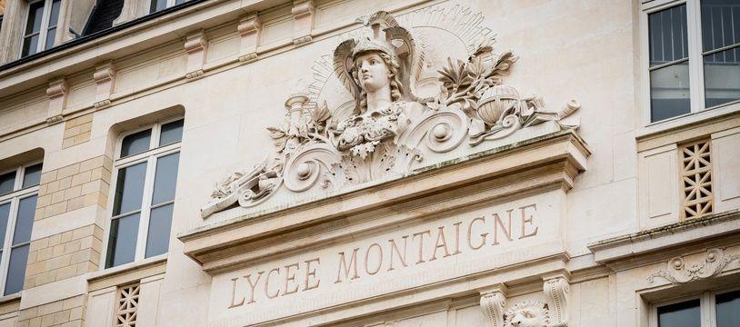 Le lycée Montaigne, à Paris (6e) le 12 février 2020.