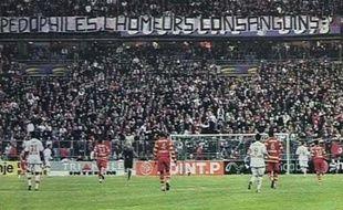 PSG-Lens: la banderole déployée le 29 mars dernier en finale de la Coupe de la Ligue était devenue une affaire d'Etat.
