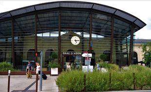 La gare d'Agen