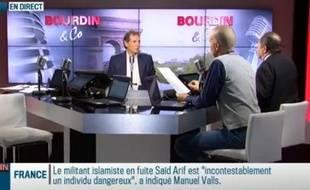 La matinale de Jean-Jacques Bourdin, «Bourdin & Co», est diffusée à la fois sur RMC et la chaîne de télévision RMC Découverte depuis début 2013.