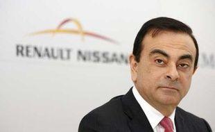 Carlos Ghosn, le PDG de Renault-Nissan en avril 2010 à Bruxelles.