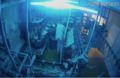 Images de vidéosurveillance dans un abattoir normand, Brut.