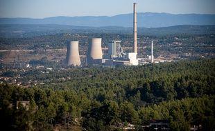 Gardanne le 22 septembre 2011 - La centrale thermique