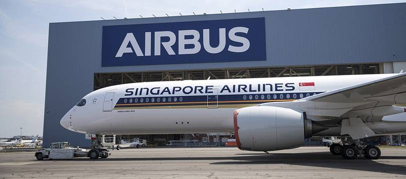 Airbus a dévoilé le premier A350 ultra long range qui sera livré dans quelques mois à Singapore Airlines