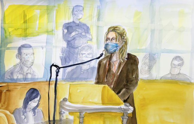 Isabelle Moogalian témoigne à la barre de la cour d'assises