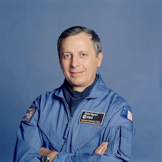 L'astronaute français Michel Tognini.