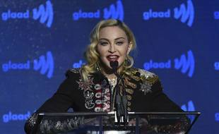 Madonna à New York le 4 mai 2019.