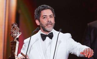 Manu Payet lors de la 29ème Nuit des Molières en 2017