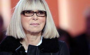 Mireille Darc en décembre 2012, sur le plateau du «Grand Journal».
