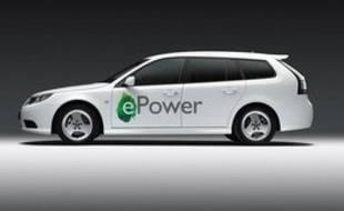 le prototype électrique Saab 9-3 ePower