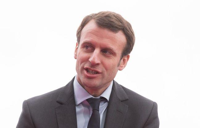 Emmanuel Macron, le 11 janvier 2016