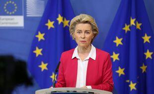 Ursula Von Der Leyen, à Bruxelles le 22 septembre 2020.