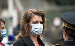 La ministre chargée de la Citoyenneté, Marlène Schiappa, à Paris le 8 Janvier 2021.