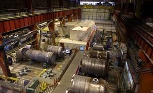 Dans l'usine Areva de Chalon/Saint-Marcel qui fournit les équipements lourds aux centrales nucléaires