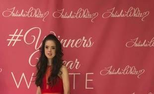Marian Avila a défilé lors de la Fashion Week de New York, le 8 septembre.