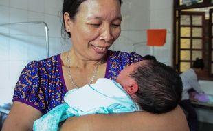 Une vietnamienne met au monde un bébé de plus de 7kg.