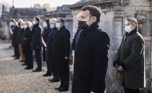Emmanuel Macron, le 8 janvier 2020 à Jarnac.