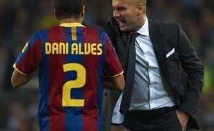 Daniel Alves a été entraîné par Guardiola au Barca