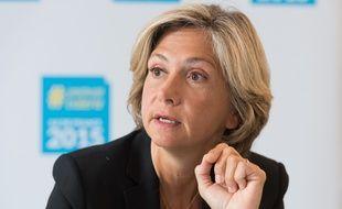 Valérie Pécresse, candidate du parti Les Républicains aux élections régionales, le 2 octobre 2015.