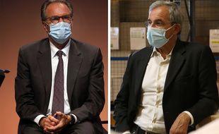 Le président sortant de Paca Renaud Muselier (LR) est devancé par le candidat du RN Thierry Mariani dans les sondages