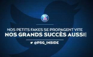 Capture d'écran de la vidéo postée sur Twitter par le PSG, le 31 mars 2016.