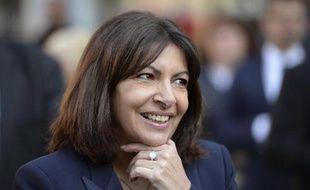 La maire de Paris Anne Hidalgo (PS) le 21 avril 2015 à Paris