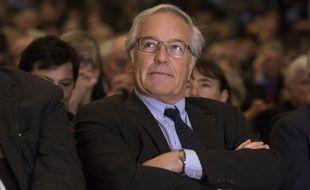 L'ancien ministre du Travail François Rebsamen