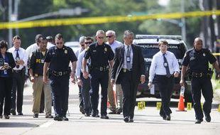 Neuf personnes ont été blessées dans une fusillade à Houston, le 26 septembre 2016.
