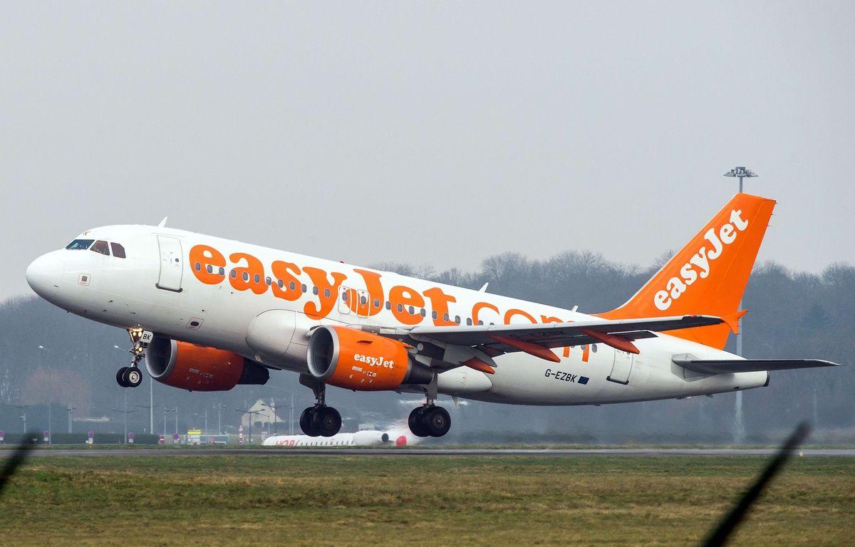 Un avion EasyJet (illustration). – AFP