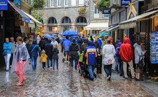 Saint-Malo au mois d'août
