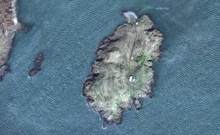 L'île de Little Ross, près des côtes écossaises.