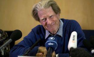 Le prix Nobel de médecine 2012 John Gurdon s'est exprimé à Londres après l'annonce de sa dictinction, le 8 octobre.