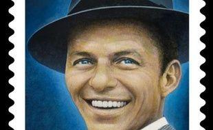 Un timbre à l'effigie de Frank Sinatra