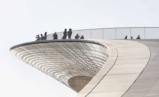 On a marché sur le MAAT, le nouveau musée de Lisbonne, inauguré le long du Tage en octobre 2016.
