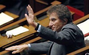 Le député du Pas-de-Calais, Jack Lang, le 8 février 2011, à l'Assemblée nationale, à Paris.