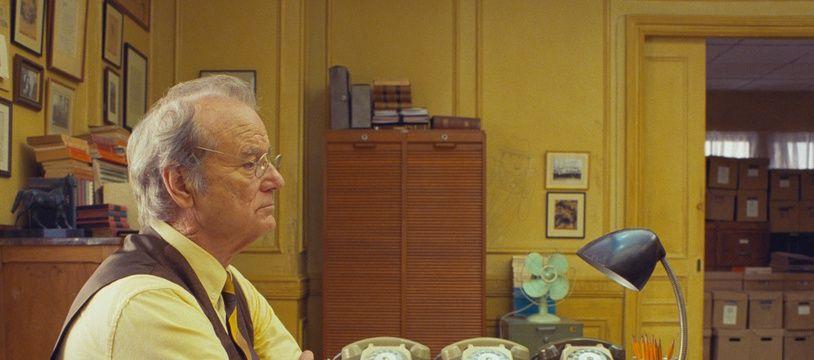 L'acteur Bill Murray dans «The French Dispatch» de Wes Anderson