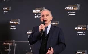 Le président de l'Académie des César, le 29 janvier 2020.