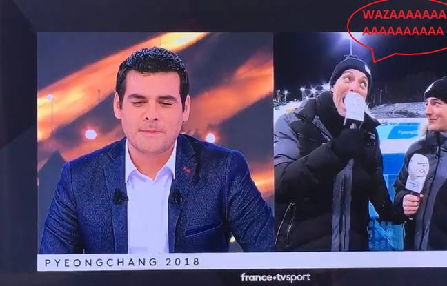 20 Minutes, JO 2018: «EEeeeeaaaaaEEAEaeaeae» Le génial craquage en direct d'un journaliste de France2