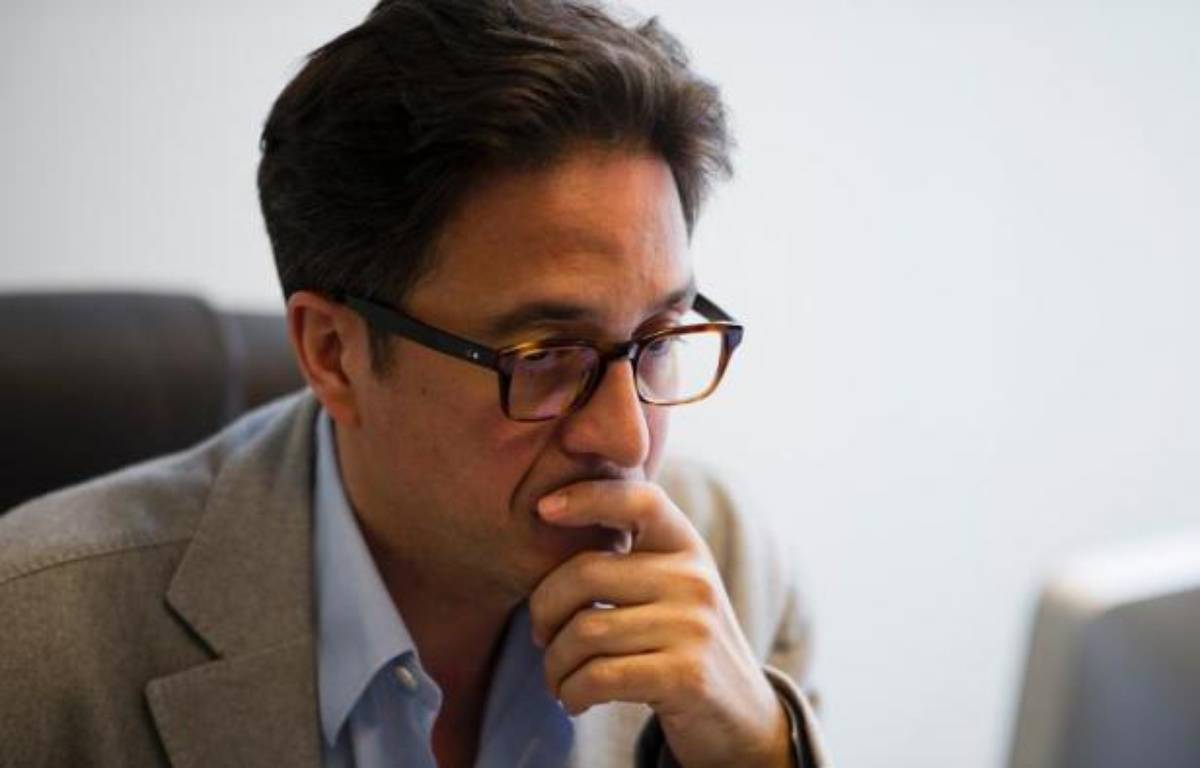 Aquilino Morelle, proche conseiller de François Hollande, à Paris le 3 mai 2012 – Fred Dufour AFP