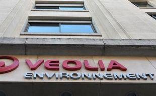 Le siège de Veolia Environnement, à Paris le 20 février 2012