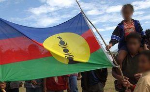 Le drapeau de la Nouvelle-Calédonie