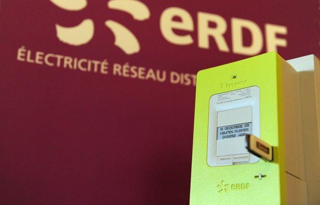 Un compteur Linky d'EDF